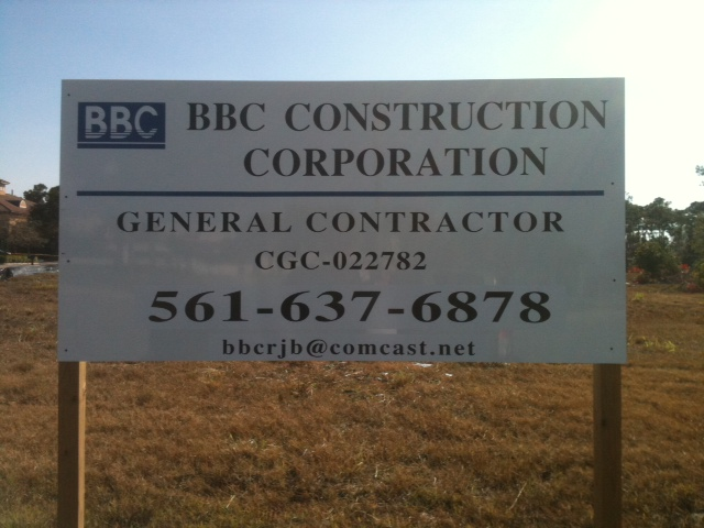 Real Estate / Yard / Site Sign